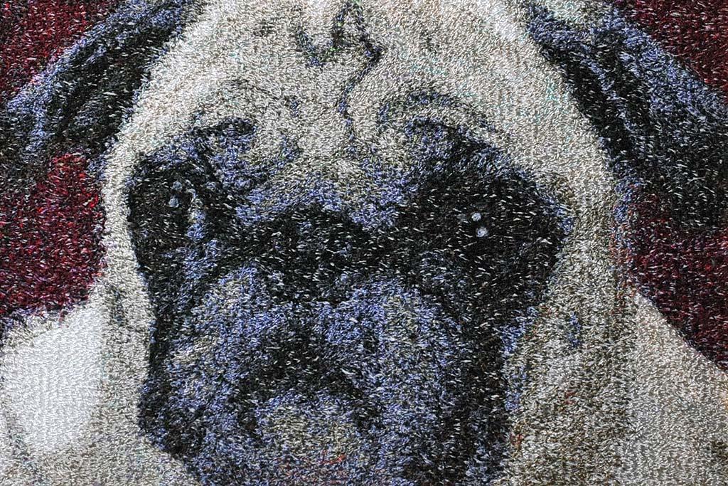 フォト刺繍