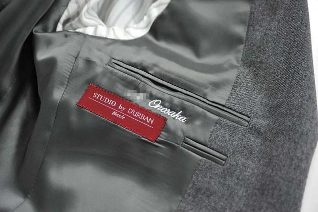 ジャケットネーム刺繍