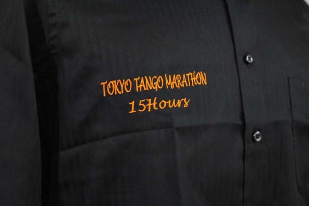 タンゴ シャツ刺繍