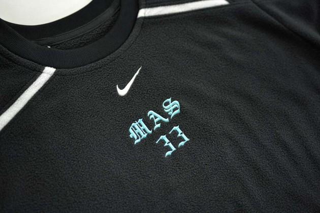 スポーツシャツ刺繍