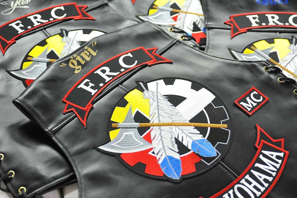 F.R.C カラーズ MCカラーズ 刺繍 バイク オートバイ